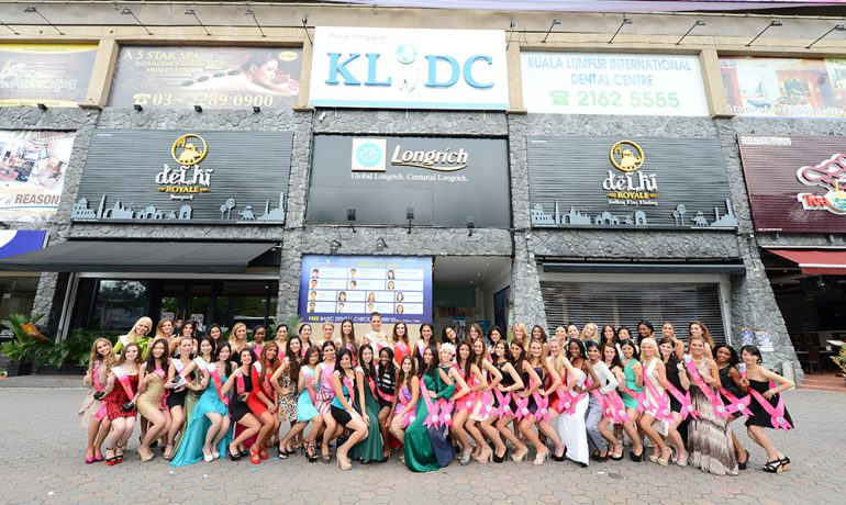 Miss Tourism International Delegates 2014