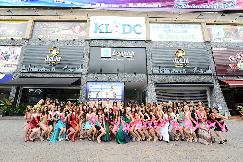 Miss Tourism International Delegates 2014